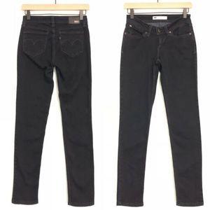 Levi's Bold Curve Low Rise Skinny Jeans Dark Wash